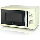more details on Swan SM40010 Standard Microwave - Cream.