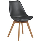 more details on Habitat Jerry Dining Chair - Black.