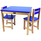 more details on Liberty House Toys TikkTokk Boss Table and Chair Set Blue.