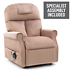 more details on Boston Riser Recliner Chair with Single Motor - Mushroom.