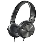 more details on Philips SHL3160 DJ Style On-Ear Headphones - Black.