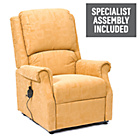 more details on Chicago Rise and Recline Armchair - Gold.