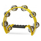 more details on A-Star Cutaway Tambourine - Yellow.