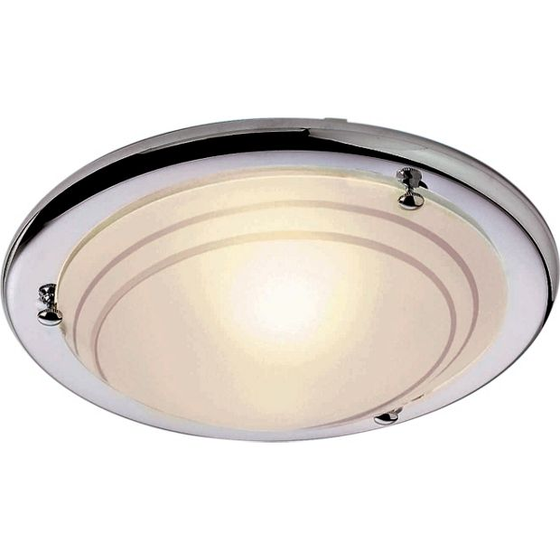 Ceiling Lights At Argos : Buy home chrome finish flush ceiling fitting at argos