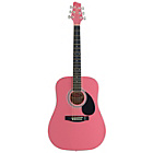 more details on Stagg 3/4 Size Acoustic Guitar - Pink.