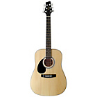 more details on Stagg 3/4 Size Left Handed Acoustic Guitar - Natural.