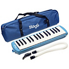 more details on Stagg Melodica - Blue.
