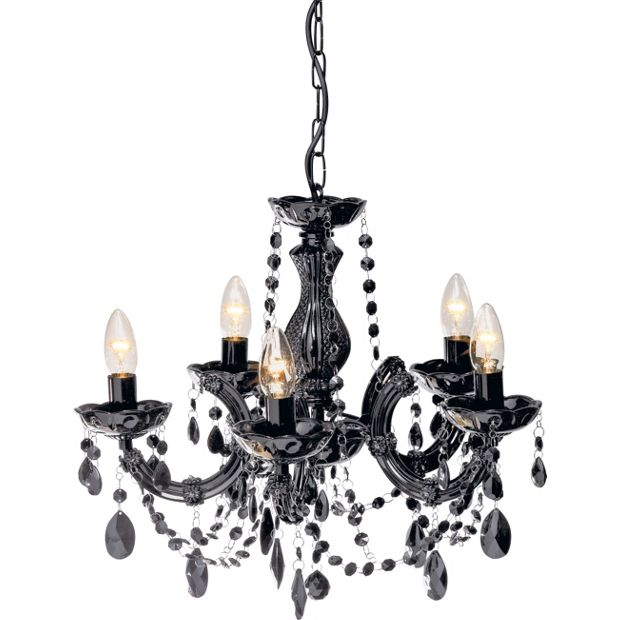 3d Wall Light Toys R Us : Buy Collection Inspire Chandelier 5 Light Ceiling Fitting - Blk at Argos.co.uk - Your Online ...