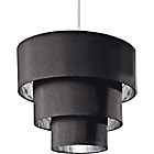 more details on Inspire 3 Tier Light Shade - Black and Silver.