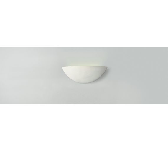 Switched Chandelier Wall Lights : Buy HOME Mars Ceramic Wall Light - White at Argos.co.uk - Your Online Shop for Ceiling and wall ...