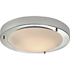 more details on HOME Flush Bathroom Ceiling Fitting - Chrome.
