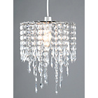 more details on Living Beaded Light Shade - Clear.