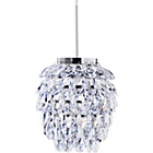 more details on HOME Pineapple Shape Pendant Shade - Clear.