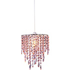 more details on Living Beaded Light Shade - Blush Pink.