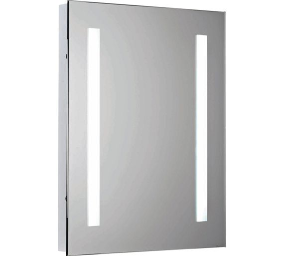 buy collection bathroom mirror with shaver point at argos. Black Bedroom Furniture Sets. Home Design Ideas