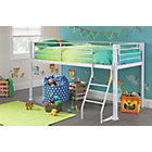 Buy Ultimate Storage Single Midsleeper Bed Frame White