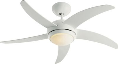 Collection Manhattan Ceiling Fan - White