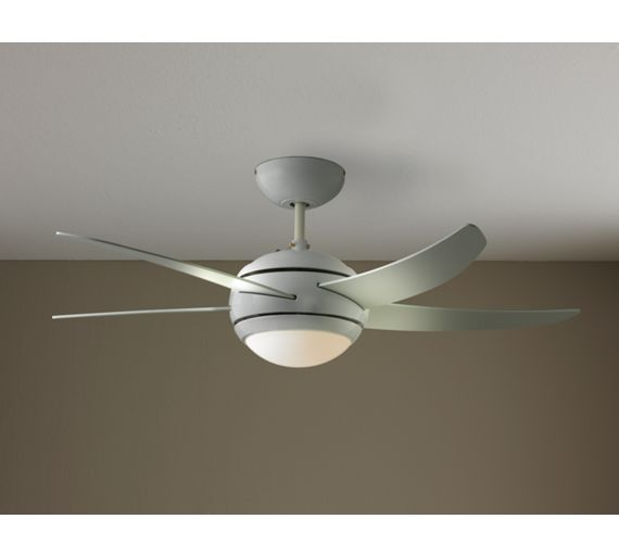 Ceiling Lights At Argos : Buy collection manhattan ceiling fan white at argos