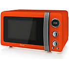 more details on Swan SM22030ON Standard Microwave - Orange.