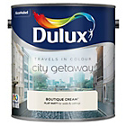 more details on Dulux Travels in Colour Paint 2.5L - Boutique Cream.