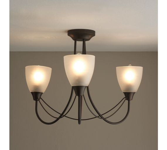 Ceiling Lights At Argos : Buy home symphony light ceiling fitting black at argos