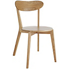 more details on Habitat Sophie Pair of Oak Dining Chairs.