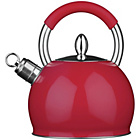 more details on Premier Housewares Whistling Kettle - Red.