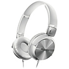 more details on Philips SHL3160 DJ Style On-Ear Headphones - White.