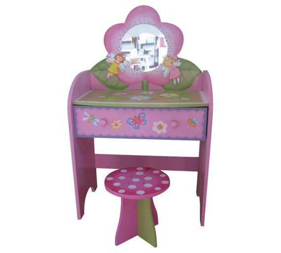 Buy Liberty House Toys Fairy Dressing Table With Stool At