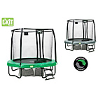 more details on EXIT Jumparena 8FT Trampoline - Green Grey.