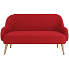 more details on Habitat Momo Fabric 2 Seater Sofa - Red.