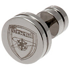 more details on Stainless Steel Arsenal Crest Stud Earring.