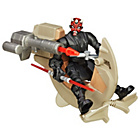 more details on Star Wars Hero Mashers Darth Maul/Anakin Speeder Asst.
