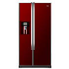 more details on Haier HRF-663CJR Fridge Freezer - Red.
