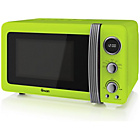 more details on Swan SM22030 Standard Microwave - Lime.