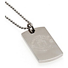 more details on Stainless Steel Man Utd Dogtag and Chain.