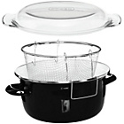 more details on Premier Housewares Enamel Deep Fryer - Black.