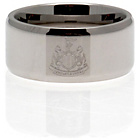 more details on Stainless Steel Newcastle Ring - Size R.