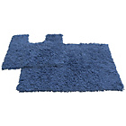 more details on Tufted Twist 2 Piece Bath Mat Set - Mediterranean Blue.