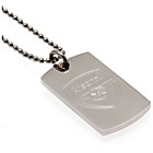 more details on Stainless Steel Arsenal Dogtag and Chain.
