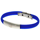 more details on Stainless Steel and Rubber Chelsea Bracelet.