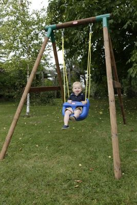 Buy Little Tikes High Back Toddler Swing Seat  Blue at Argos co uk  Your On   -> Kuchnie Dla Dzieci Little Tikes
