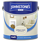 more details on Johnstone's Matt Paint 2.5L - Antique Cream.