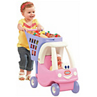 more details on Little Tikes Princess Cozy Coupe Shopping Cart.