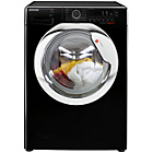 more details on Hoover DXCC49B3 9KG 1400 Spin Washing Machine- Black/Exp Del