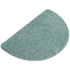 more details on Shaggy Half Moon Bath Mat - Duckegg.