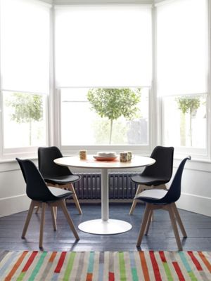 Habitat Dining Set - Lance Oak Table and 4 Jerry Chairs