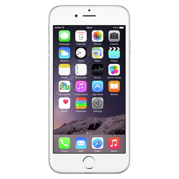 Buy Sim Free Apple Iphone 6 128gb Mobile Phone Silver At