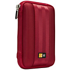 more details on Case Logic EVA External Small Hard Drive Case - Red.