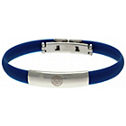 more details on Stainless Steel and Rubber Leicester City Bracelet.